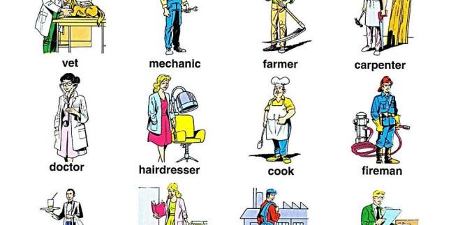 İngilizce Meslekler ve Anlamları