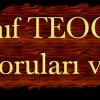 2014 TEOG 1. Dönem Musevilik Soruları ve Cevapları