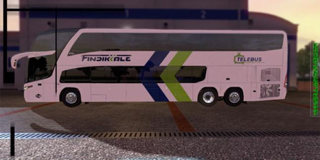 Euro Truck Simulator 2 Marcopolo G7 1800 Otobüsü Fındıkkale Otobüs Modu