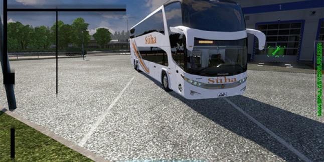 Euro Truck Simulator 2 Marcopolo G7 1800 Otobüsü Süha Turizm Otobüs Modu