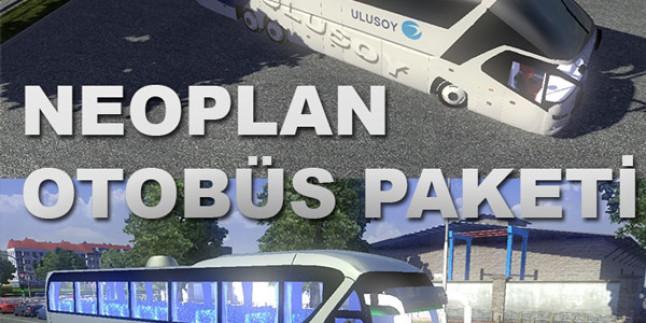 Euro Truck Simulator 2 Neoplan Starliner Otobüs Modu + Tourliner Otobüs Paketi
