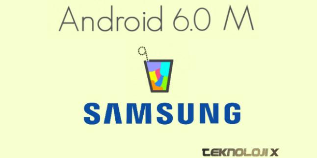 Samsung'un Android M Güncellemesi Alacak Cihazları Belli Oldu!