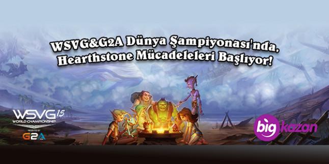 WSVG G2A Dünya Şampiyonası Hearthstone Oyunu Türkiye Elemeleri Başlıyor