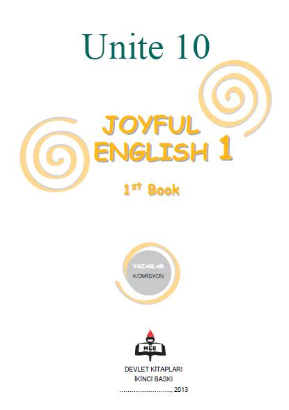 4. Sınıf İngilizce Joyful English Ders ve Çalışma Kitabı Cevapları Ünite 10