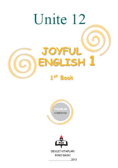 4. Sınıf İngilizce Joyful English Ders ve Çalışma Kitabı Cevapları Ünite 12