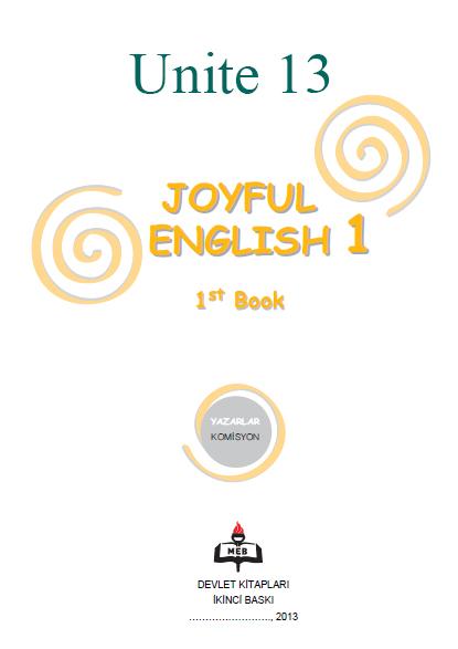4. Sınıf İngilizce Joyful English Ders ve Çalışma Kitabı Cevapları Ünite 13