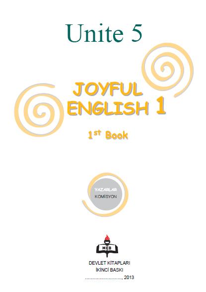 4. Sınıf İngilizce Joyful English Ders ve Çalışma Kitabı Cevapları Ünite 5