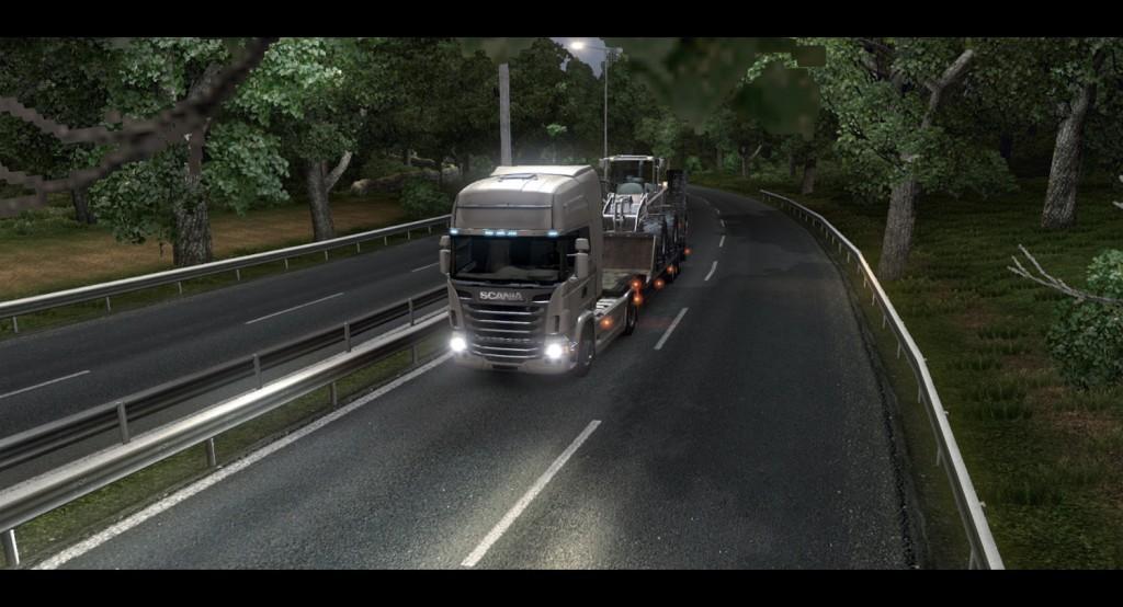 euro truck 2 simulator otobüs oyunu tır