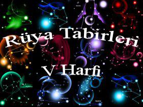 rüya tabileri v harfi