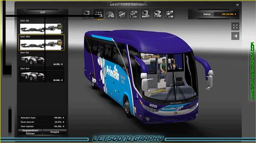 Euro Truck Simulator 2 Marcopolo G7 1200 modu