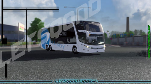 Euro Truck Simulator 2 Marcopolo G7 1800 Otobüsü Ulusoy Skini