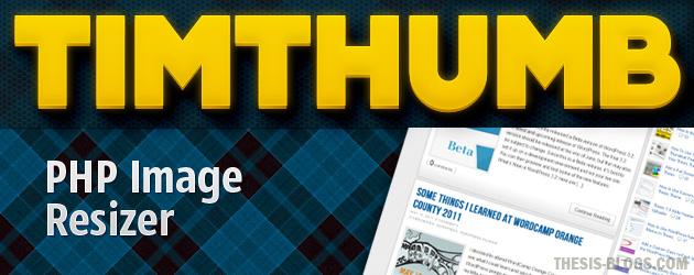 WordPress'te Timthumb ile Resim Sıkıştırma Eklentisi