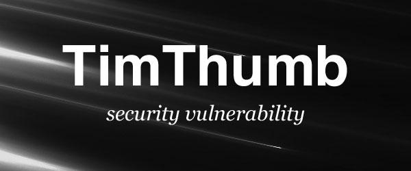 timthumb güvenlik açığı
