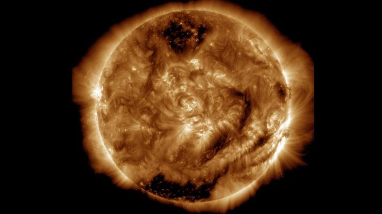 Güneşin 100 Milyonuncu Fotoğrafı