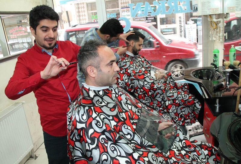 akıllı tıraş önlüğü