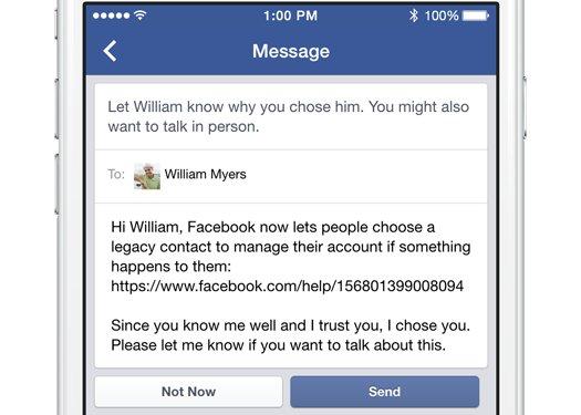 öldükten sonra facebook hesabı