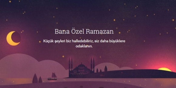 Google'dan Ramazan Ayına Özel Sürpriz